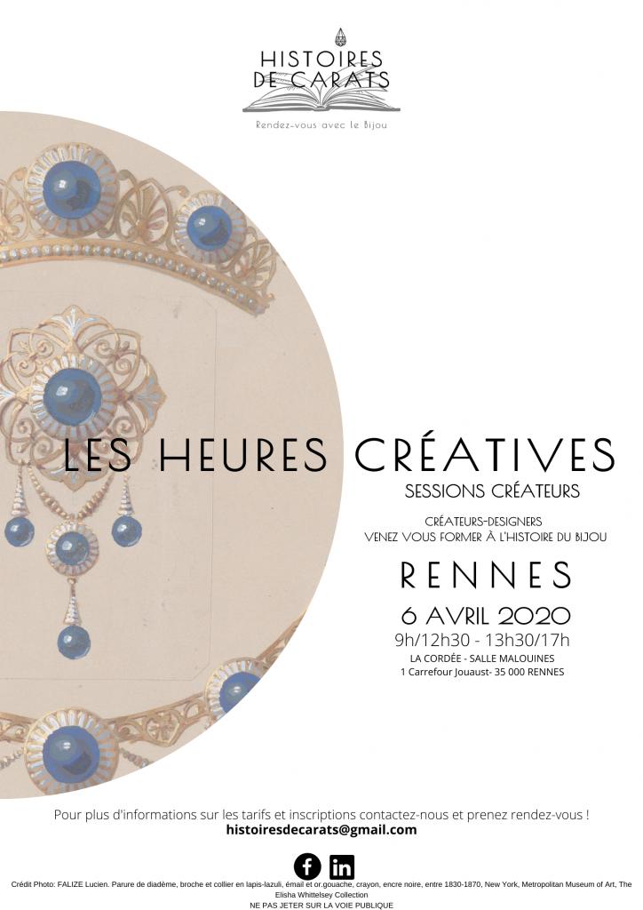 heures créatives formation créateurs de bijoux
