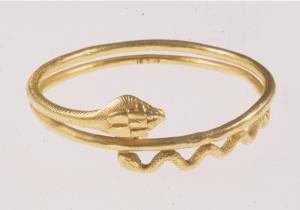bracelet serpentiforme